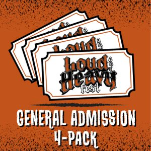 General Admission 4-Pack